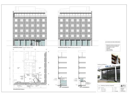Bouwtekening Verbouw Entree/hal Boschhuis