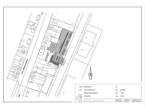 Bouwtekening Datacentrum Groenekan 3
