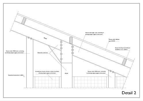 Loods Zuidwolde bouwtekening 3
