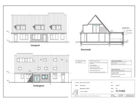Bouwtekening verbouwing woonhuis Sijgersmaheerd Groningen 3
